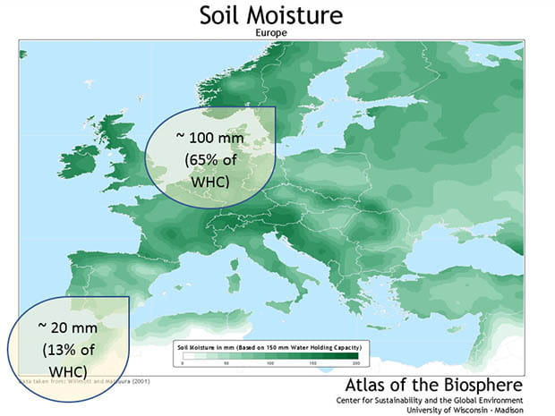 soil moisture graphic