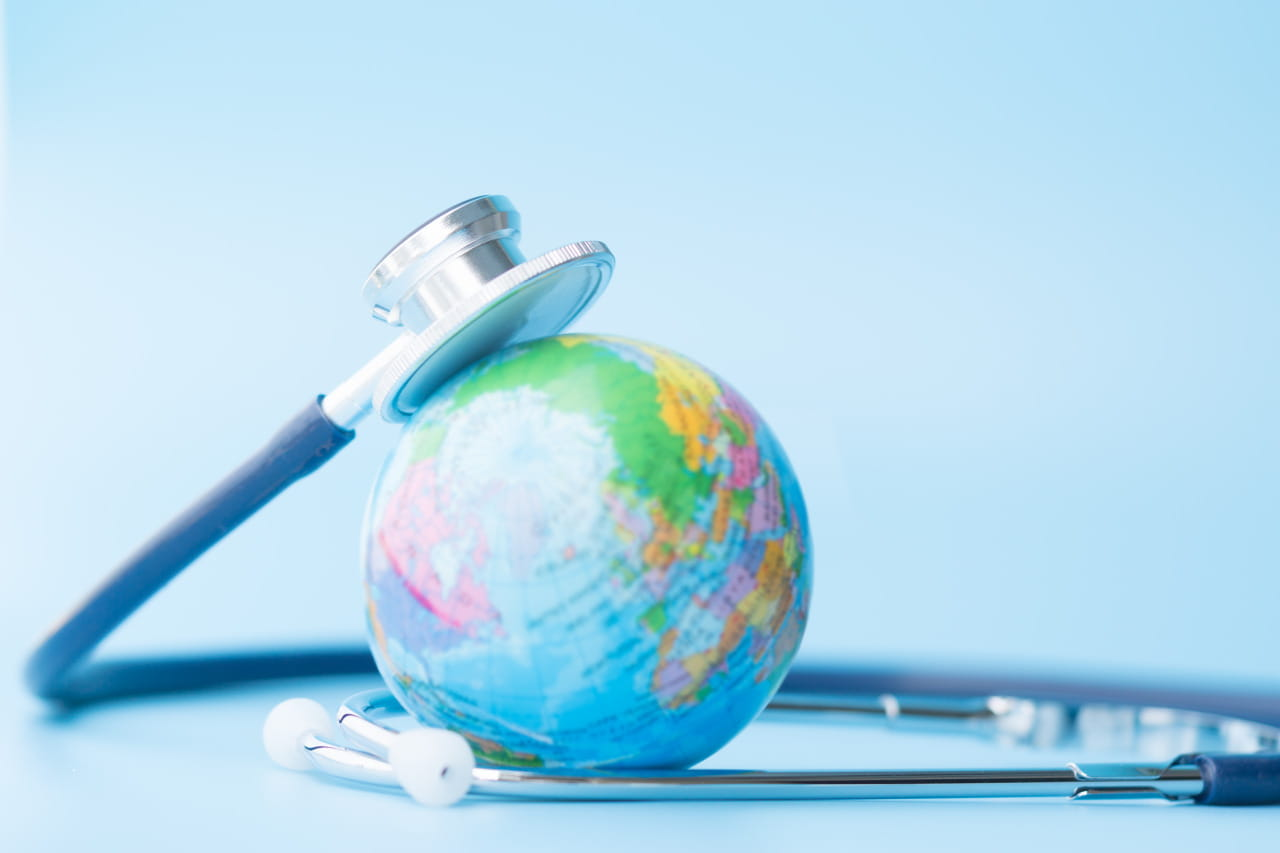 world health day globe
