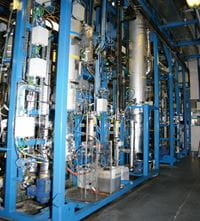 Testing times - a small scale 500g/hour pilot plant verified the process engineering models