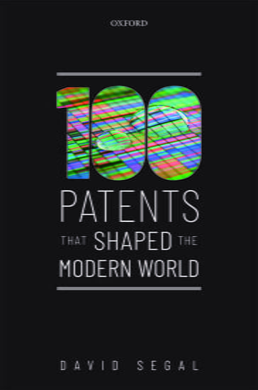 Book cover - Patents that shaped the modern world