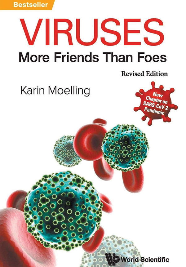 Viruses more friends than foes - book cover