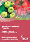 Bioplastics Processing and Properties