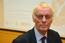 Professor Dick Horrocks, University of Bolton, presented the 15th Levenstein lecture