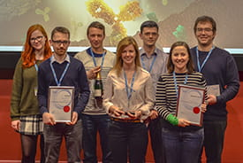 SnaAZzy Synthesisers, the winning team at 4th Retrosynthesis Competition.