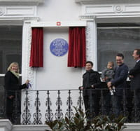 Ramsay plaque unveiled