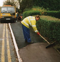 road maintenance