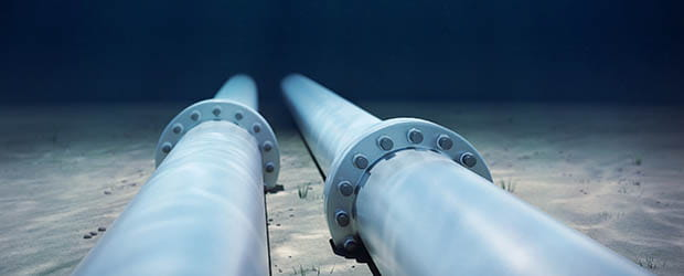 underwater pipes