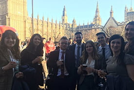 SCI representatives attended Voice of the Future 2017 in Westminster.