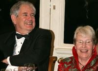 Prof Vincent and his wife Mary