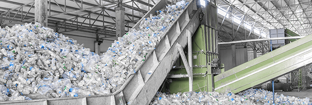 SCI PoliSCI newsletter 27th October 2020 - image of plastics recycling shoot