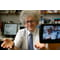 Sir Martyn Poliakoff recording one of his famous YouTube videos.