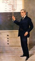 Sir William Ramsay 'Spy' cartoon from Vanity Fair