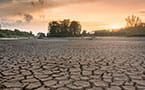 Drought in the sunset