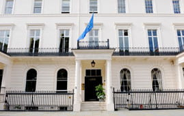 SCI, Belgrave Sq, London (image courtesy of S&F Digital)