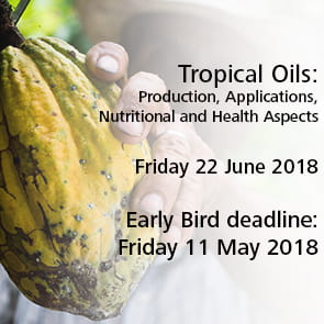 Tropical Oils - Production, Applications, Nutritional and Health Aspects Friday 22 June 2018
