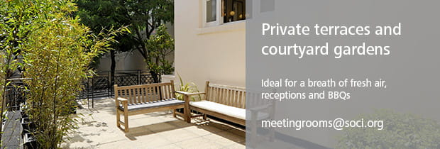 Private Terraces and Courtyard Gardens