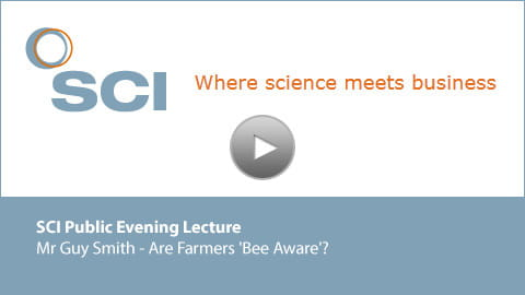 Guy Smith Public Evening Lecture Video Holding Slide