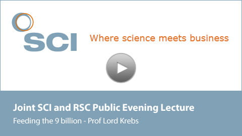 Holding slide for Lord Krebs' Lecture Video