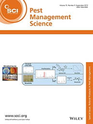 Pest Management Science Journal cover