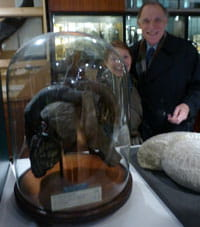 Fred and Iris Parrett with elephant heart